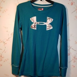UNDER ARMOUR WOMEN'S FITTED THERMAL LONG SLEEVE